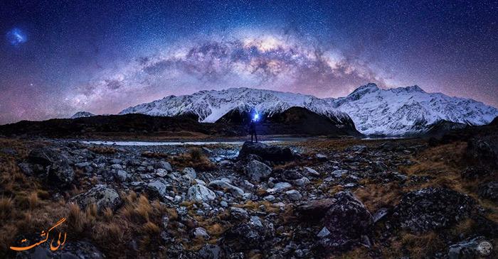 دره هوکر در نیوزیلند