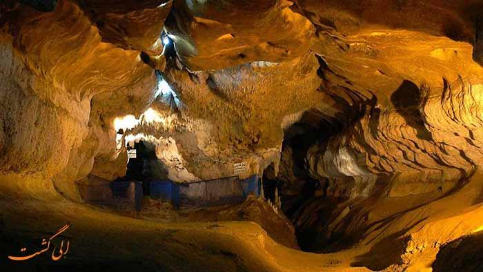 داخل غار کتله خور