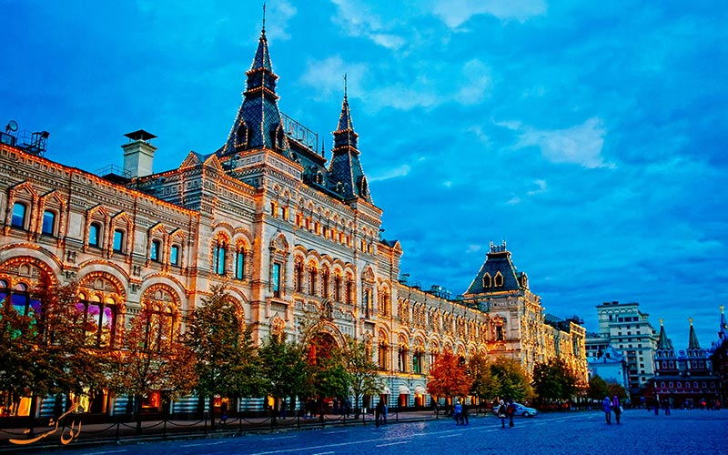 رمانتیک ترین مکان های مسکو