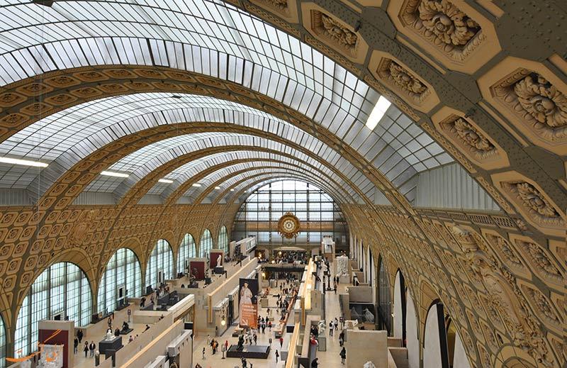 داخل موزه دورسای پاریس
