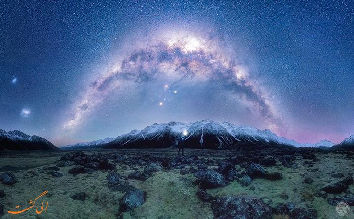 کهکشان راه شیری دره تاسمان