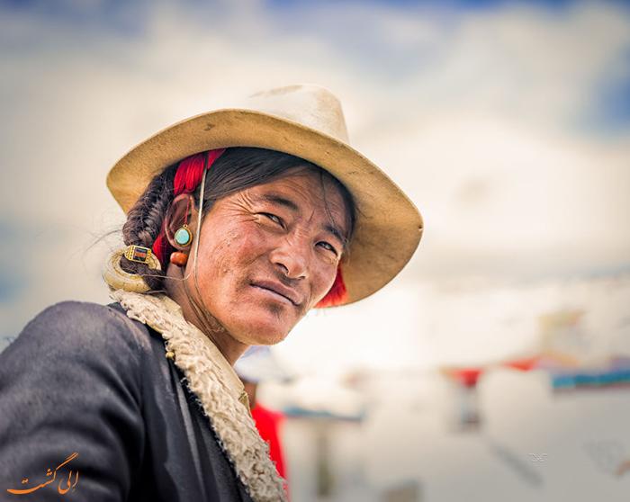 یکی از افراد بومی