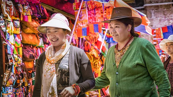 زنان محلی تبت