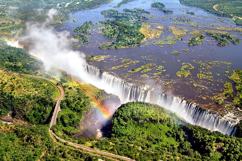 آبشار ویکتوریا در زیمباوه