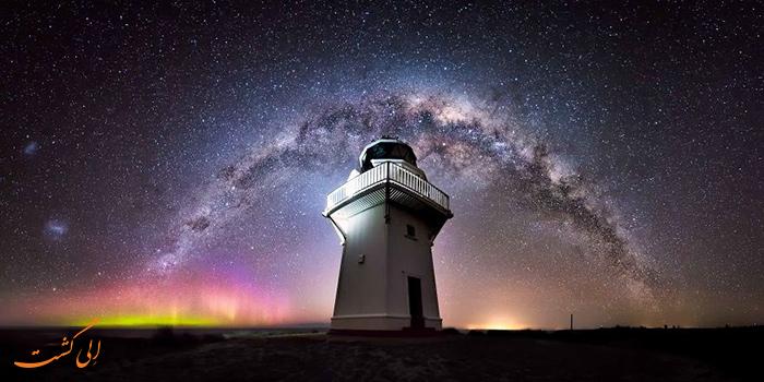 آسمان شب نیوزیلند