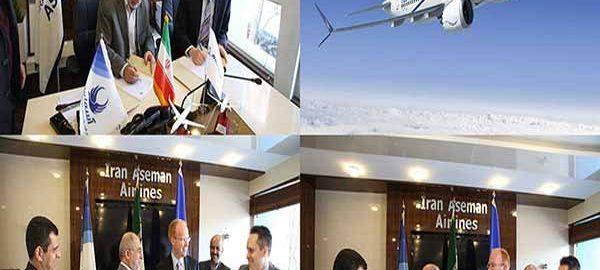 فروش هواپیماهای بوئینگ به شرکت آسمان