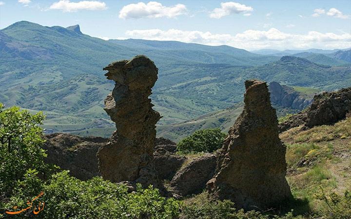 صخره های زیبا