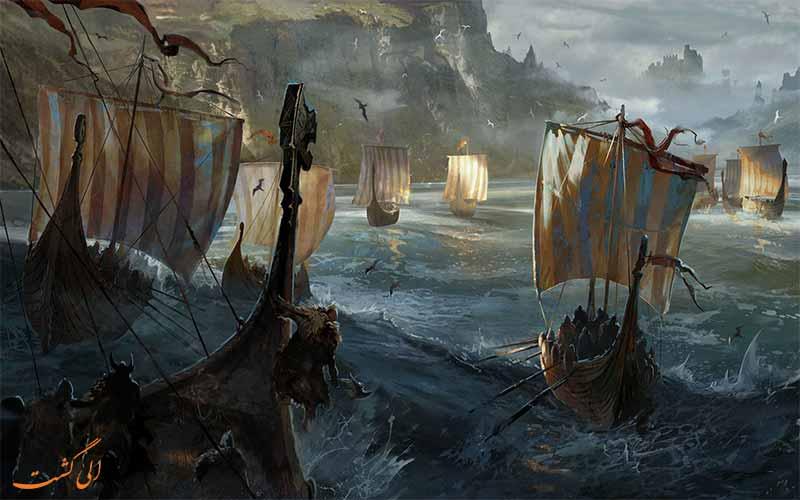قایق وایکینگ ها