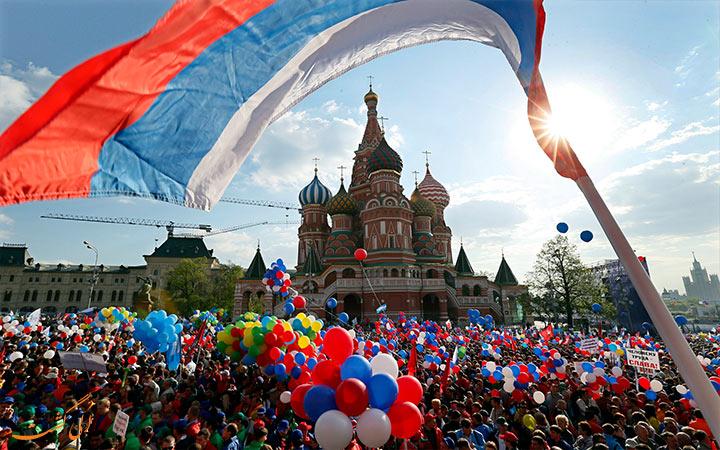 مراسم خاص در روسیه