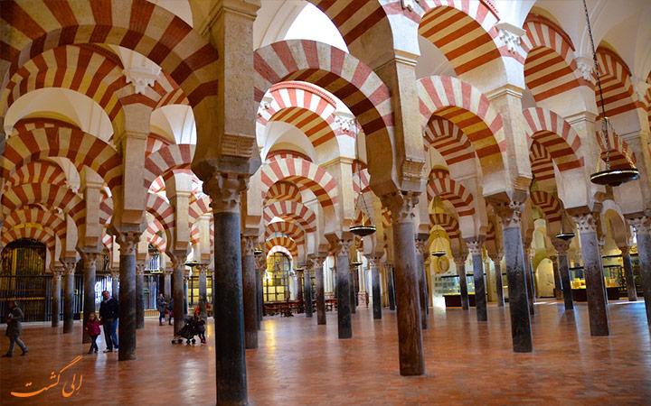 ستون های مسجد