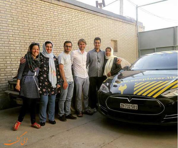 سفر زوج اروپایی به ایران
