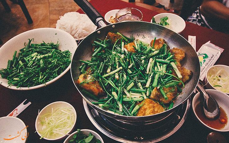 هزینه خورد و خوراک در هانوی