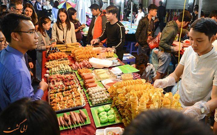 غذای خیابانی هانوی