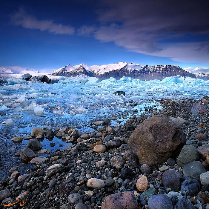 یخ های ایسلند