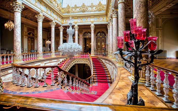 کاخ زیبای دلما باغچه