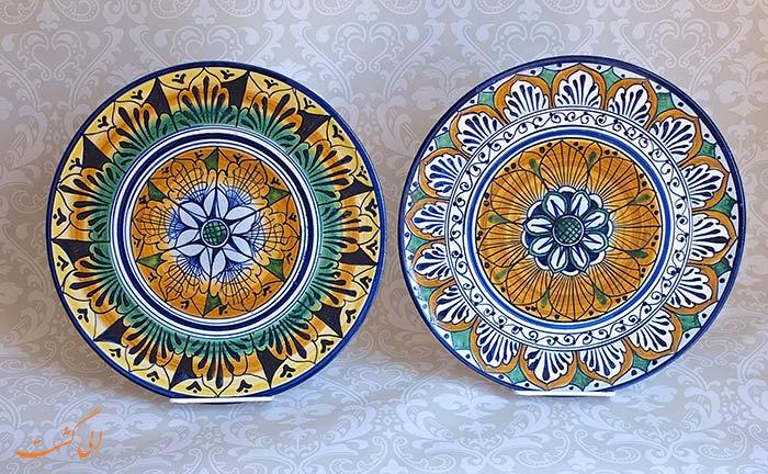 ظروف سفالی باکو
