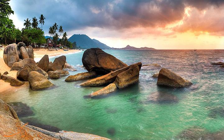 جزیره زیبای سامویی