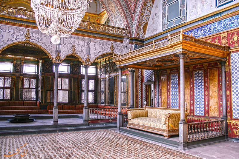 داخل کاخ توپکاپی