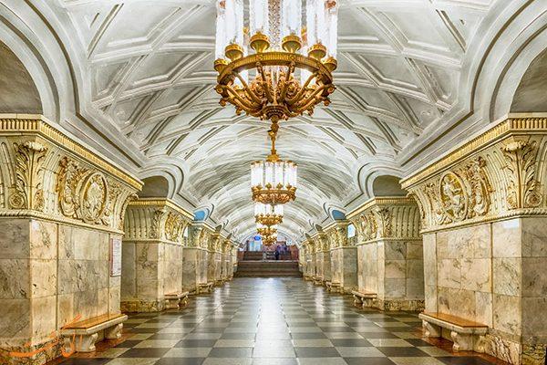 بهترین متروهای جهان | متروی مسکو