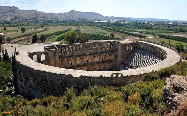 شهر تاریخی در آنتالیا