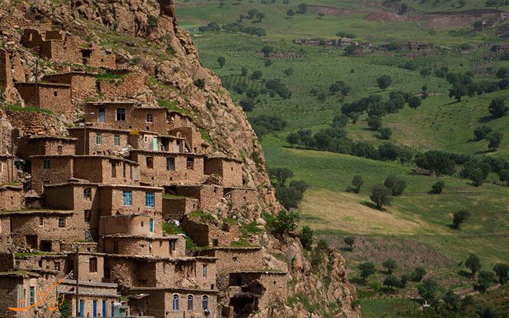 روستاهای کردستان