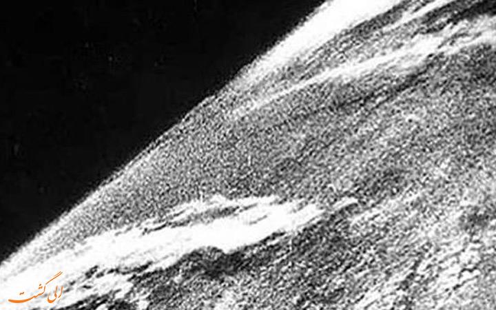 اولین تصویر از فضای بیرونی کره زمین (1946)
