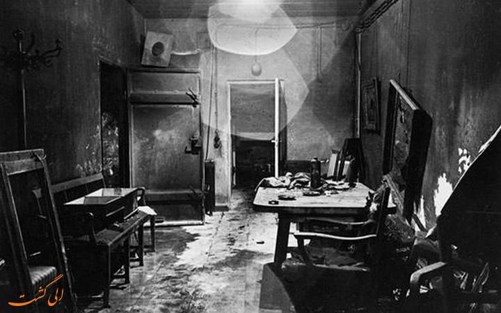پناهگاه زیرزمینی هیتلر (1945)