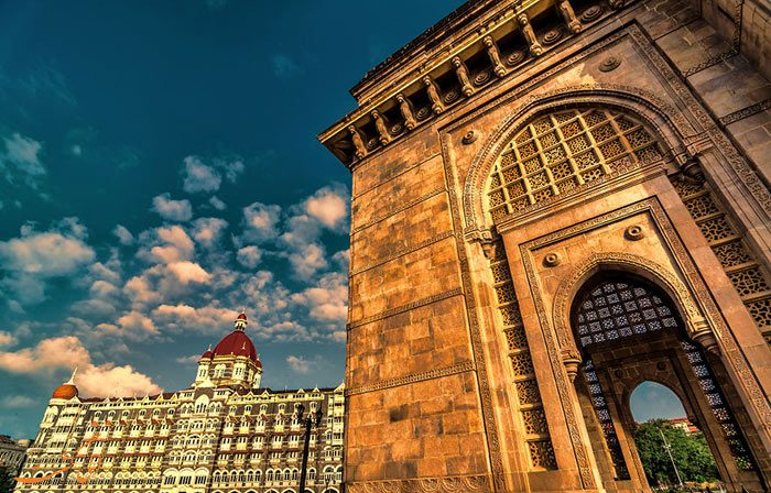 جزییاتی از دروازه هند