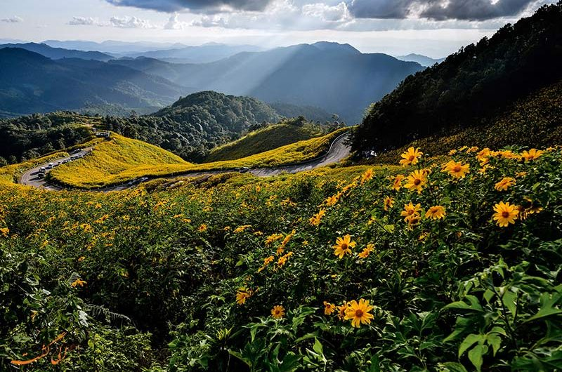 مسیر چیانگ مای به مای هونگ سون