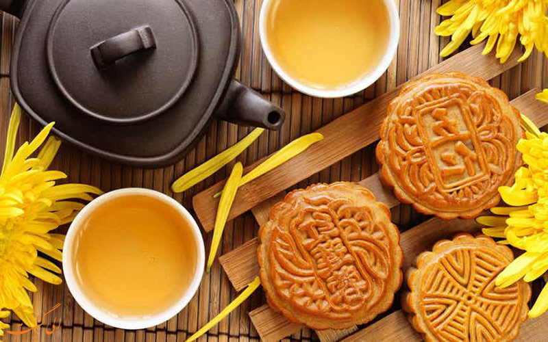 جشنواره کیک ماه چین