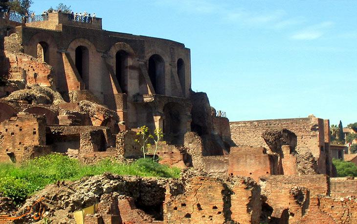 سایت باستانی تپه پالاتیسایت باستانی تپه پالاتیوموم