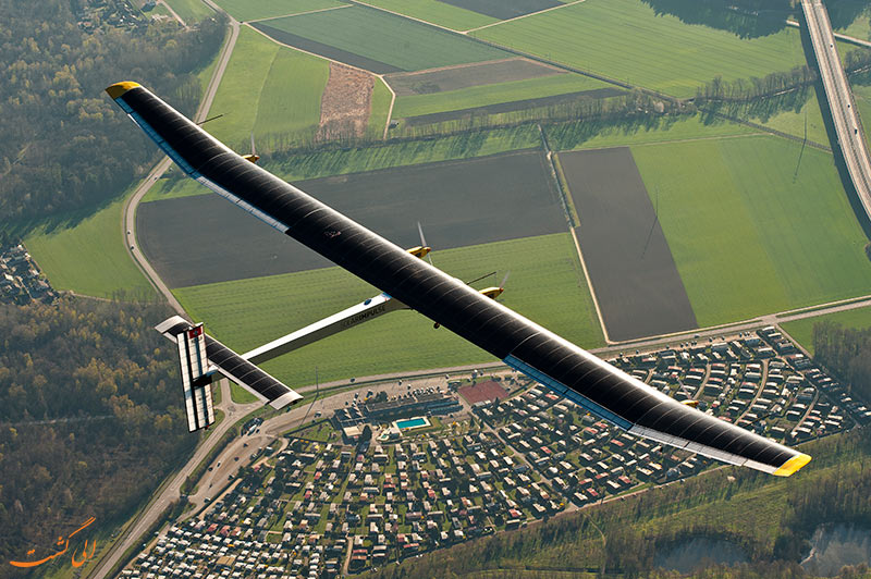 پرواز هواپیمای خورشیدی