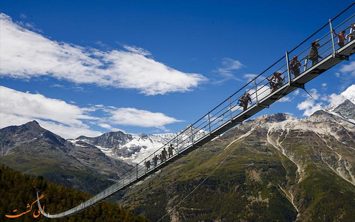 پل طولانی و معلق سوئیس