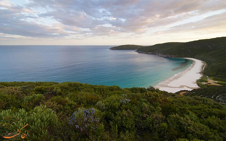 ساحل شلی در استرالیا