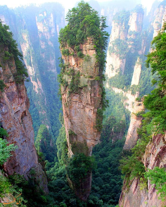 کوه های تیانزی در چین