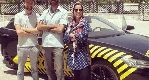 سفر زوج آلمانی_سوئیسی به ایران