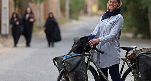 سفر با دوچرخه به تهران