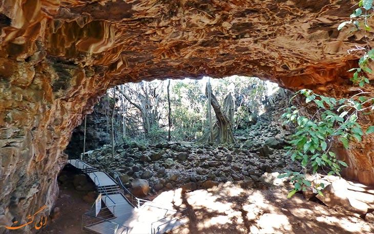 تونل های گدازه ای