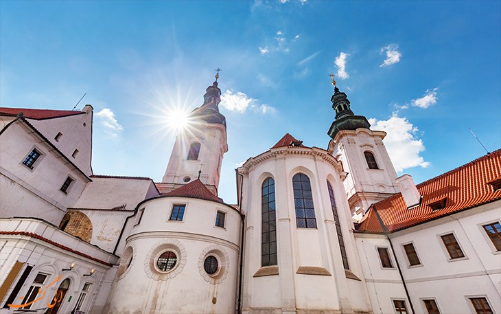 کلیسای استراهوف در پراگ