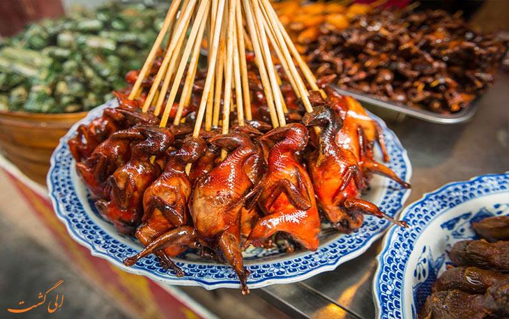 غذاهای خیابان نانجینگ