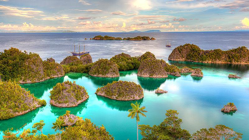 مناطق زیبای اندونزی