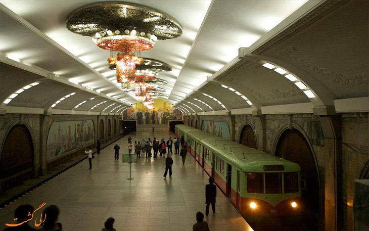 ایستگاه مترو در کره