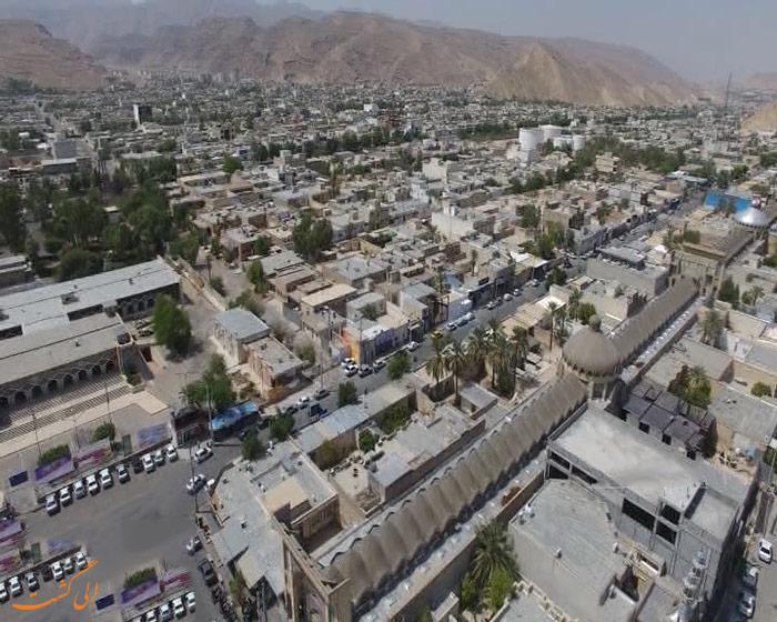 شهر بدون کوچه ایران | لار