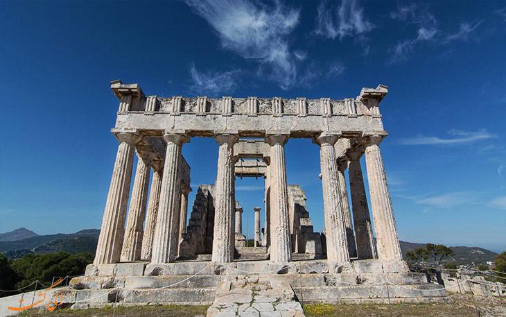 راز عبادتگاه های یونان