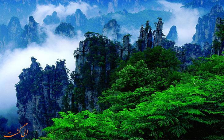 کوهستان زیبای تیانزی