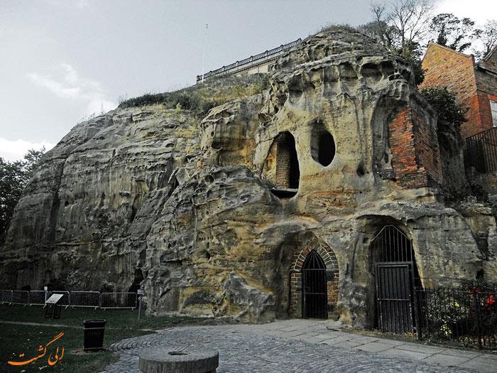 غارهای نتینگهام در انگلستان
