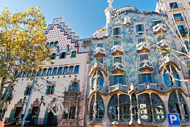کاسا باتلو در بارسلونا