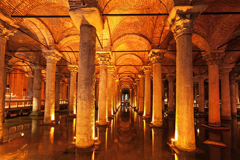 بقایای امپراطوری بیزانس در استانبول