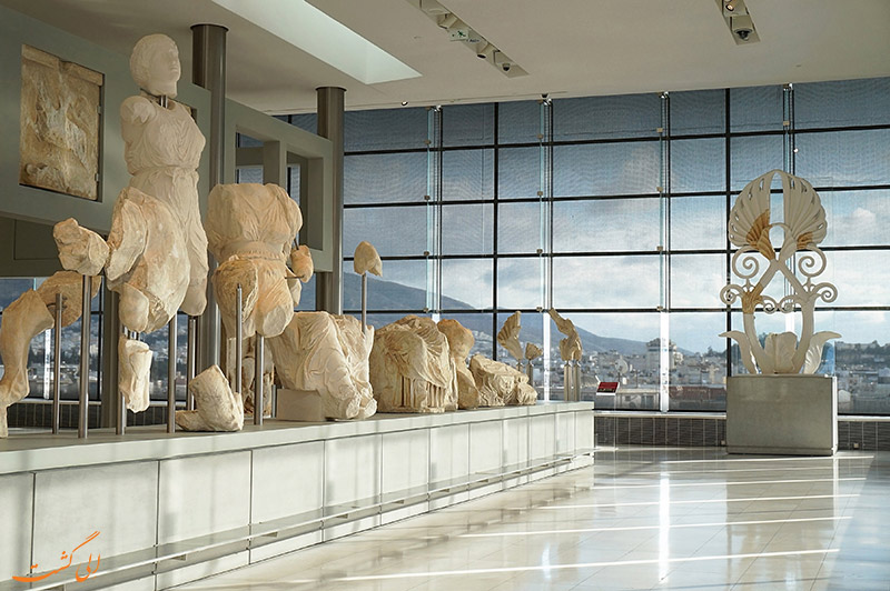 طبقه همکف موزه آکروپلیس آتن