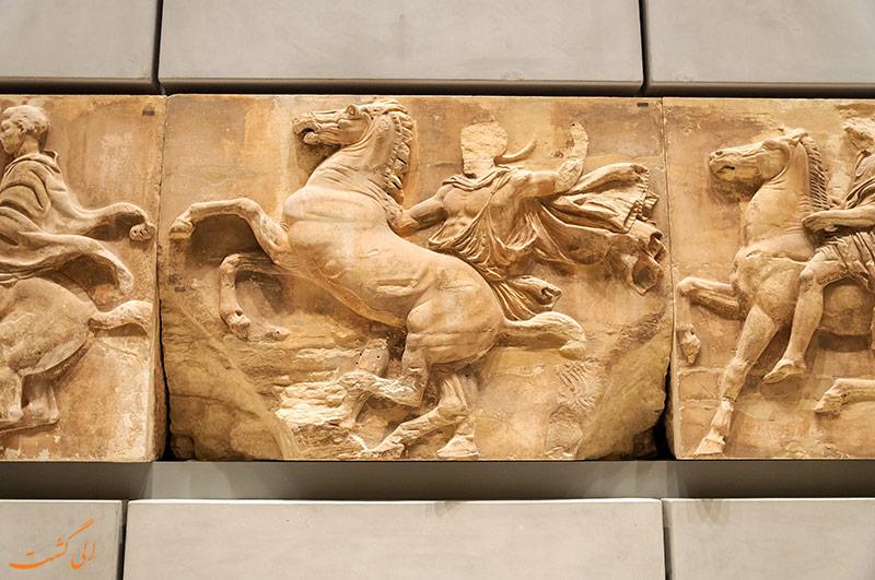 طبقه دوم موزه آکروپلیس آتن